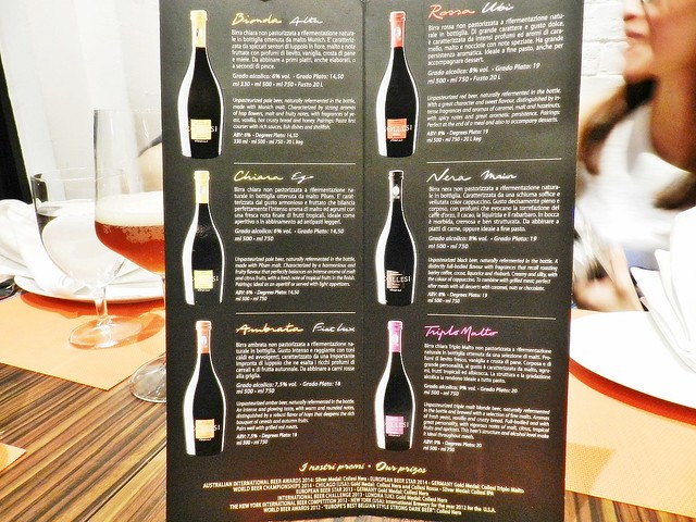 List Of Collesi Wine-Beer