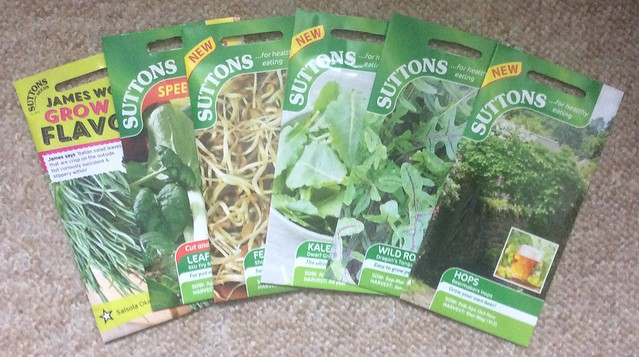 Suttons seeds to sow in October