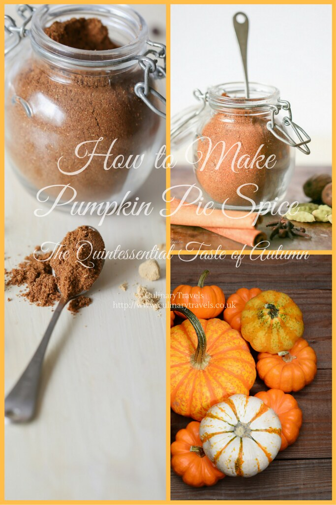 Georgina Ingham | Culinary Travels Photograph - Pin for Fuss Free, Flavour Packed, Homemade Pumpkin Pie Spice