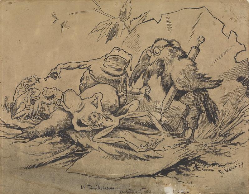 Theodor Kittelsen - A Family Drama, 1880