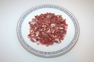 04 - Zutat Speck / Ingredient bacon