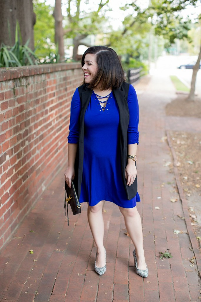 Head to Toe Chic-Lace Up Dress-@akeeleywhite