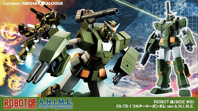ROBOT Damashii <Side MS> Full Armor Gundam