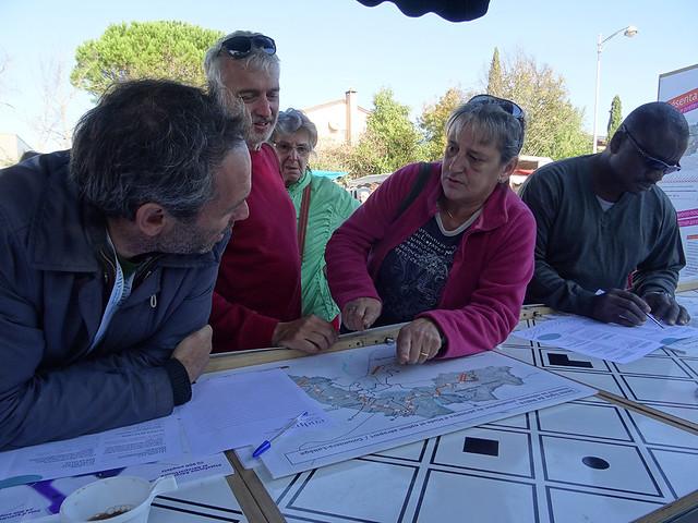 Métro Ligne 3 Toulouse- débat mobile marché de Tournefeuille