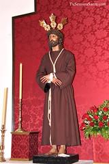 Salud y Estrella vestidos de Franciscanos