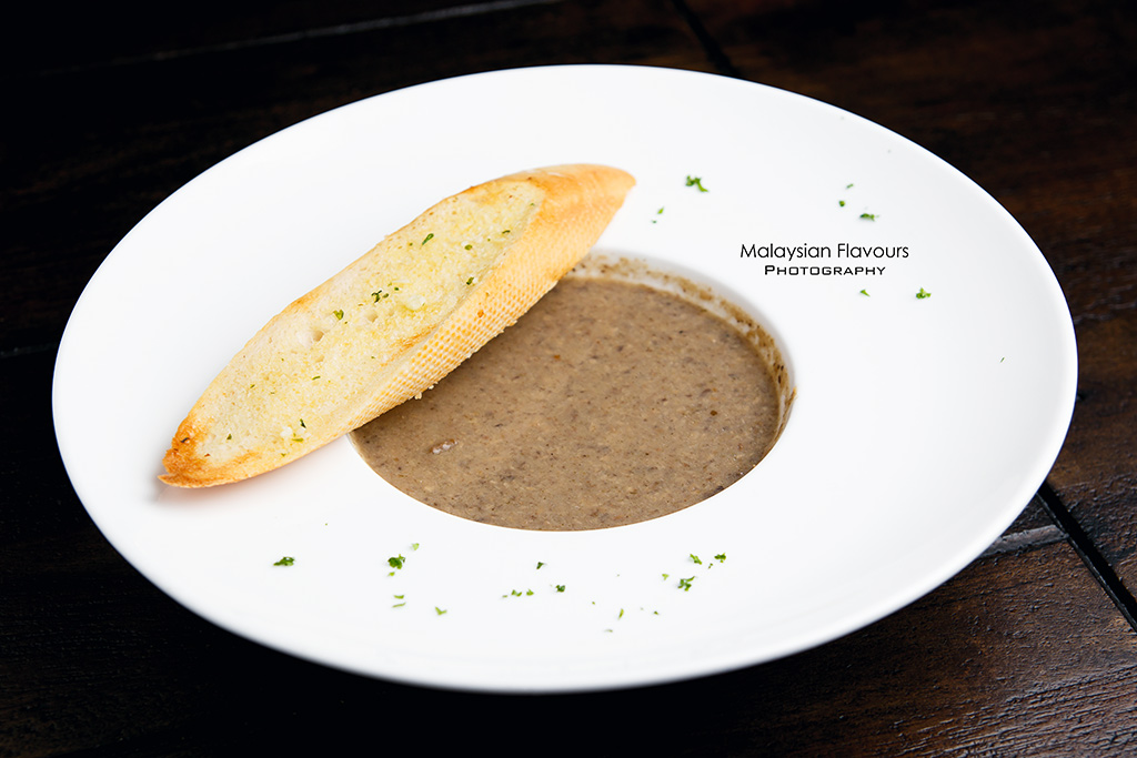 lavo wild mushroom soup