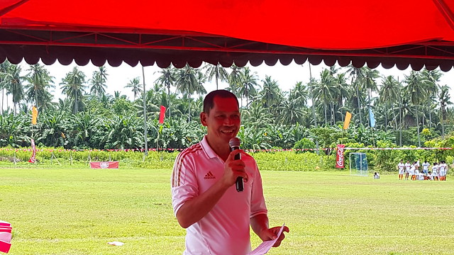 DavaoLife.com: Pablo Tanuan, ANAKK - Sta. Cruz Executive Director | Coca-Cola FEMSA Partners with ANAKK Sta. Cruz and Real Madrid for Social Sports School Program