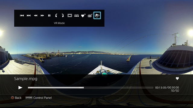 PlayStation 4's Media Player Update