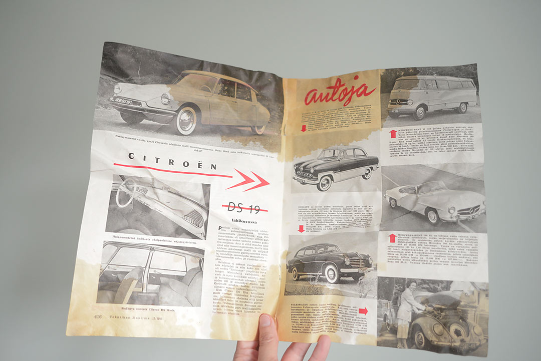 Magazine from 1955