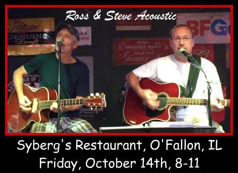 Ross & Steve Acoustic 10-14-16