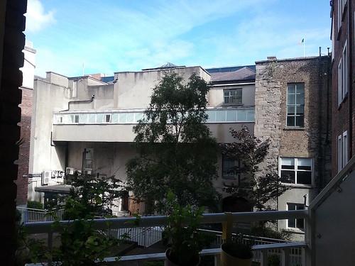 Balcone: la vista sul cortile interno