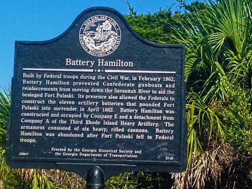 Battery Hamilton _ Fort Pulaski