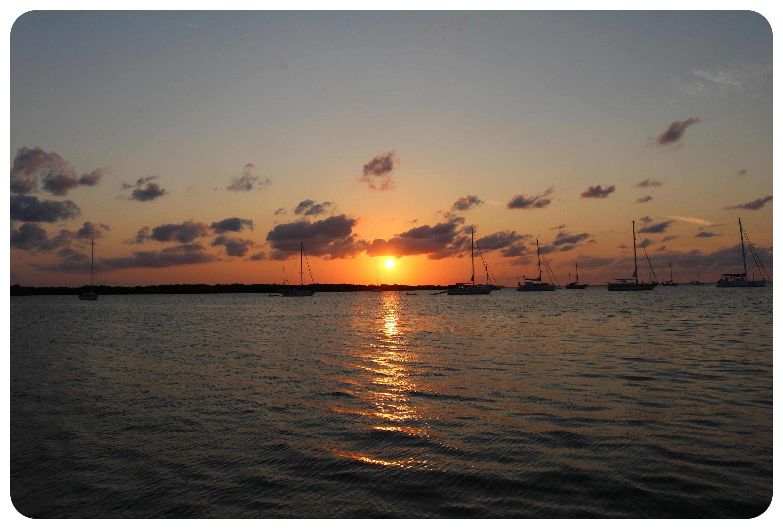 isla mujeres sunset mexico