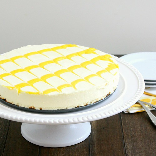 Lemon Icebox Cheesecake | by Tracey's Culinary Adventures