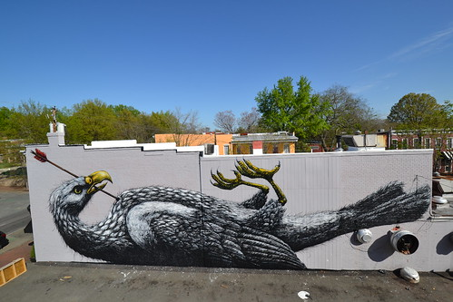 RICHMOND (US) -the Richmond Mural project | by ROA !