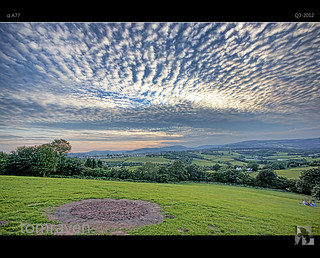 Mysterious Circle Mackerel Sky | by tomraven