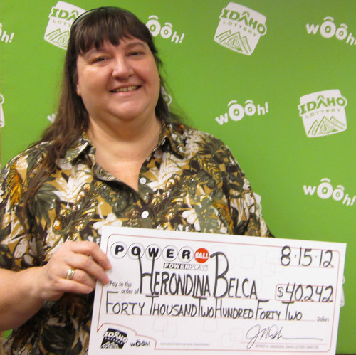 Herondina Belca - $40,242 Powerball | by Idaho Lottery
