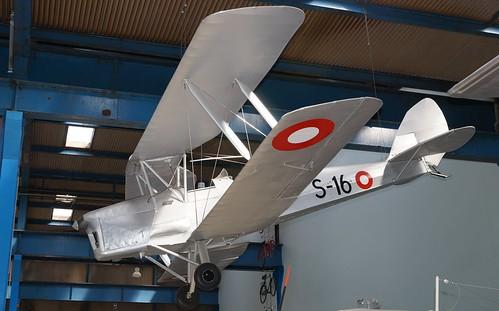 de Havilland DH 82A Tiger Moth II in Helsingør