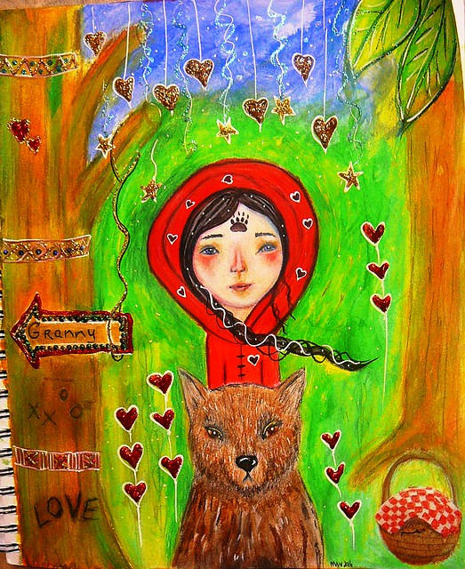 Red Riding Hood -lesson by Micki Wilde