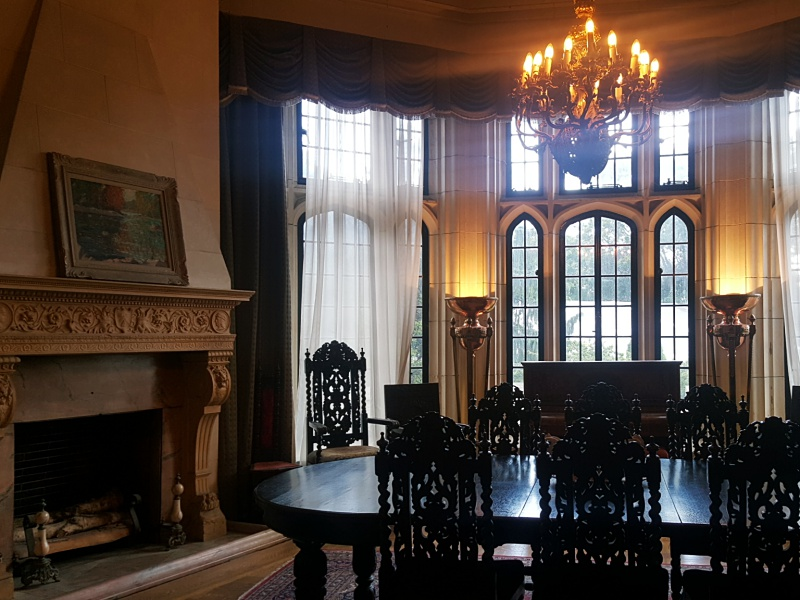 Casa Loma dining room