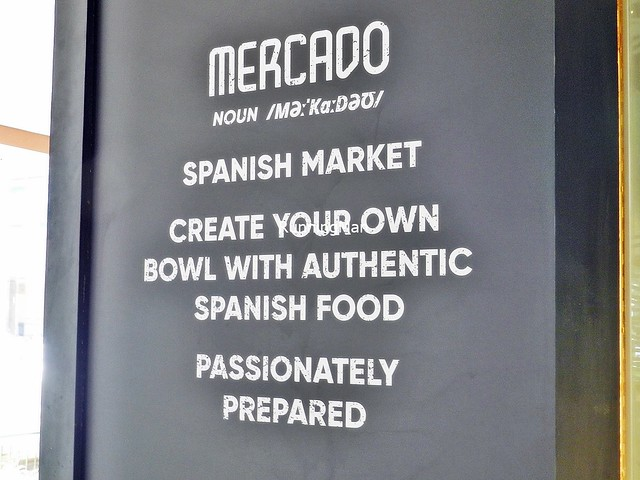 Mercado Spanish Food Market Signage