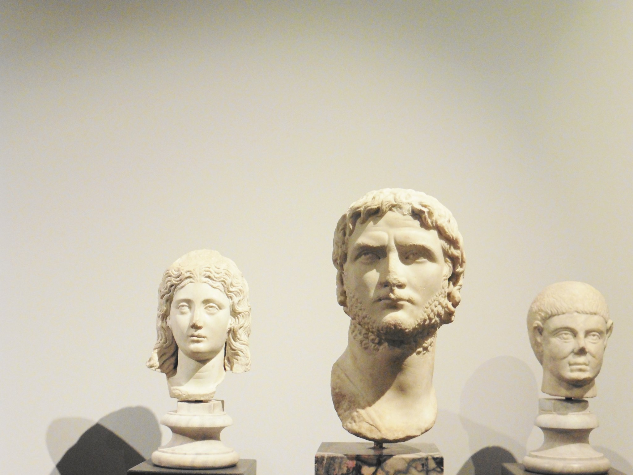 Busts in The Palatine Hill Museum