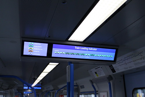 Train Loading Indicator on Thameslink 700104