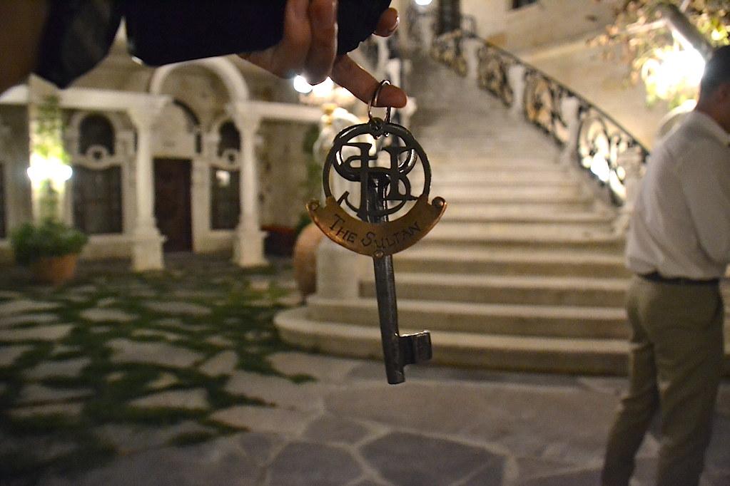 sacred house 鑰匙