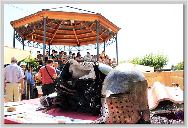 Poza de la Sal, Feria de Artesanía y Alimentación y Combates medievales (7)