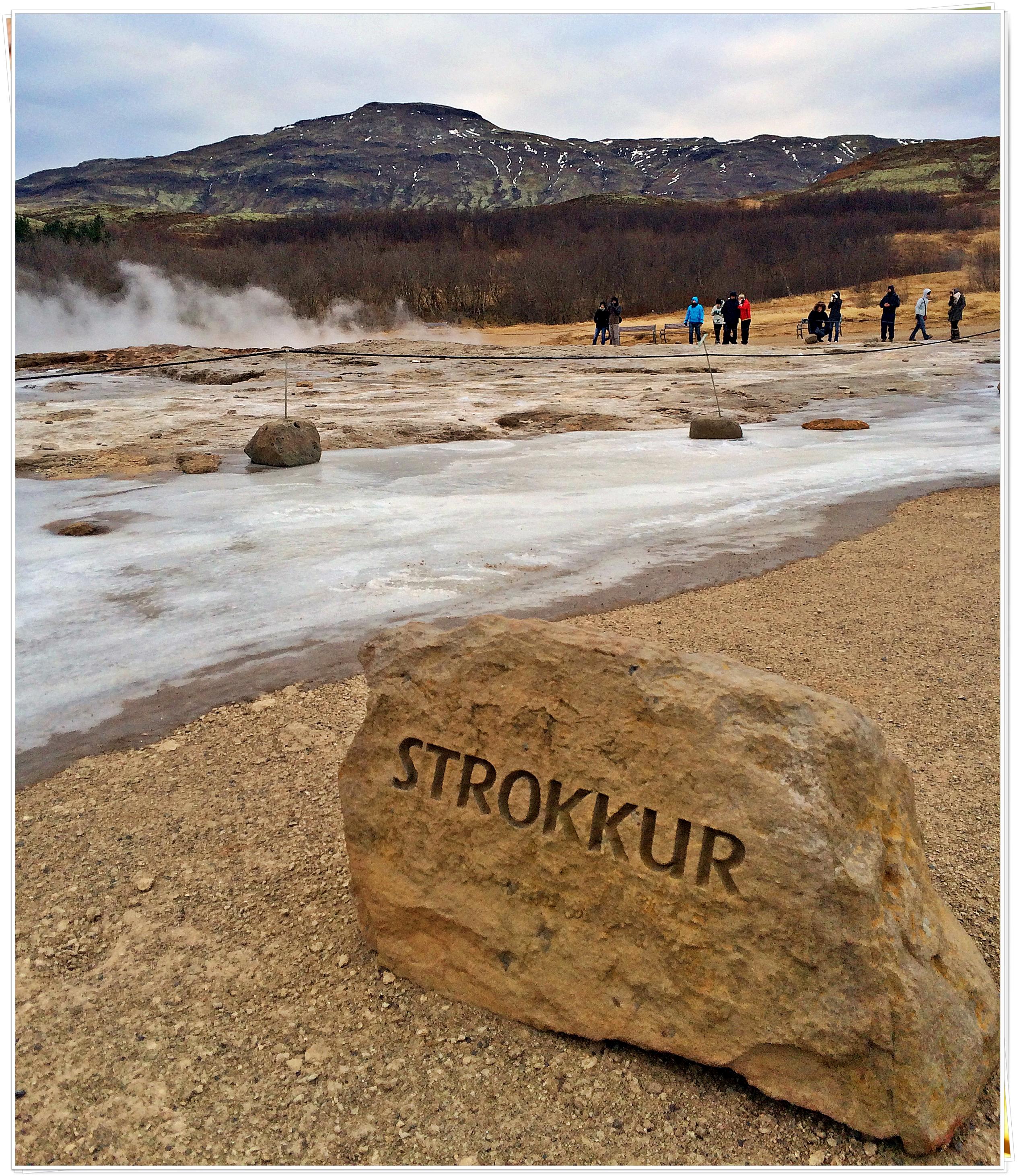 Strokkur Geysir, Reykjavik, Iceland - Nov 2014