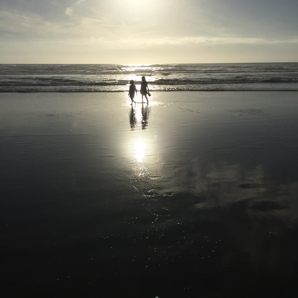 sisters at cannon beach
