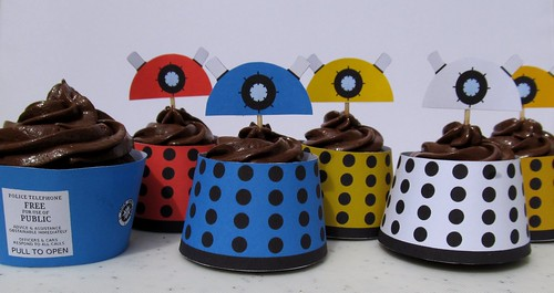 Doctor Who Cupcakes | by seelensturm