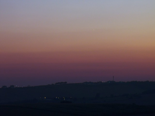 Venus & Jupiter (2 days before conjunction)
