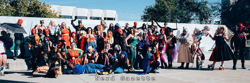 SacAnime Summer 2016 | DC Comics Cosplay Gathering