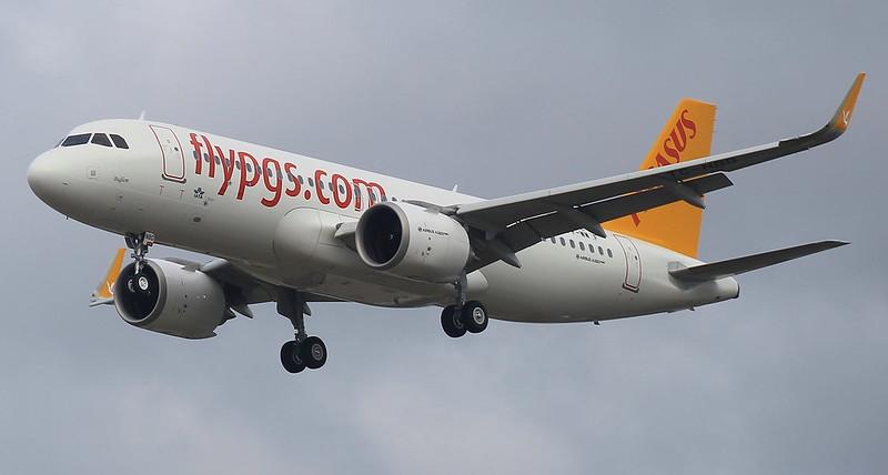AIRBUS A320-251NEO PEGASUS AIRLINES F-WWBF MSN7162 (TC-NBD)