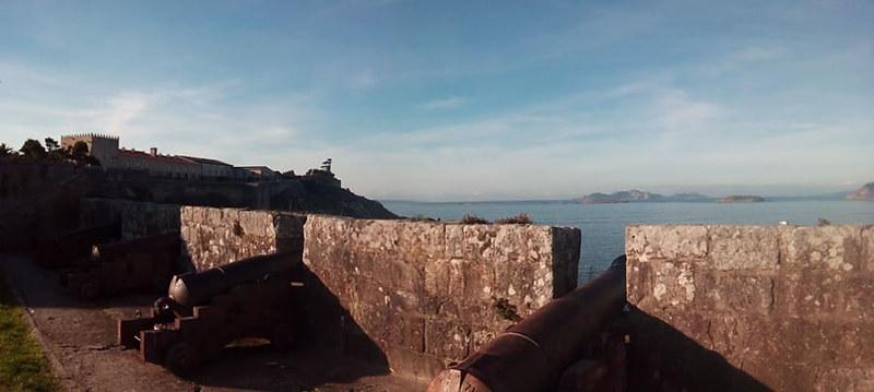 Bayona era un punto clave de la defensa de Galicia