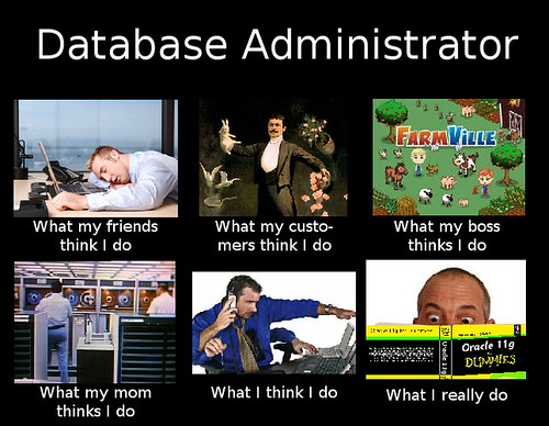 database admin | by 2CleanorNot2