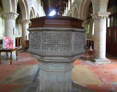 font: 'baptizantes eos in nomine patris et filii et spritus sancti - Mat 28:13'