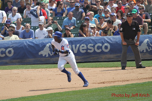 Chicago Cubs - Alfonso Soriano run | by chitownsportspics