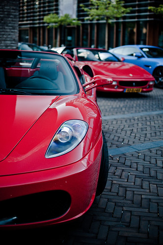 Ferrari F430 Spider and F355 GTS | by D.LOS