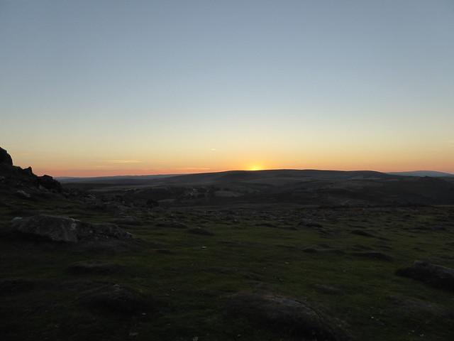 Sunset Haytor 2027