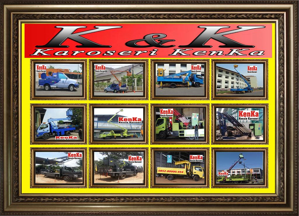 Bingkai Horisontal - Truck Skylift