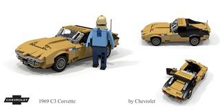 Chevrolet Corvette C3 1969 - 'Astrovette'