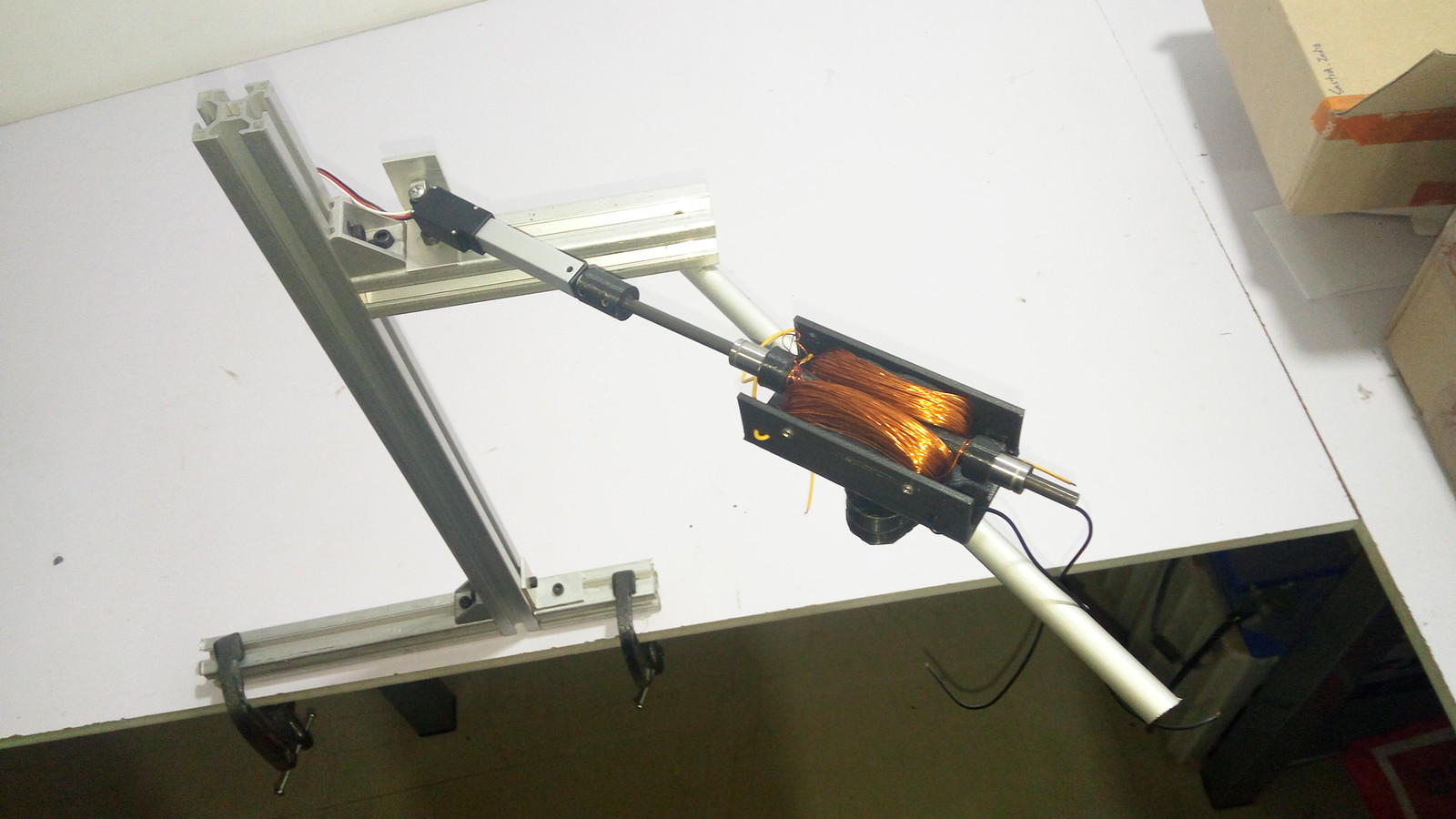 Photo of the prototype arm.