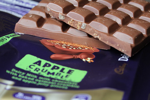 Apple Crumble Chocolate