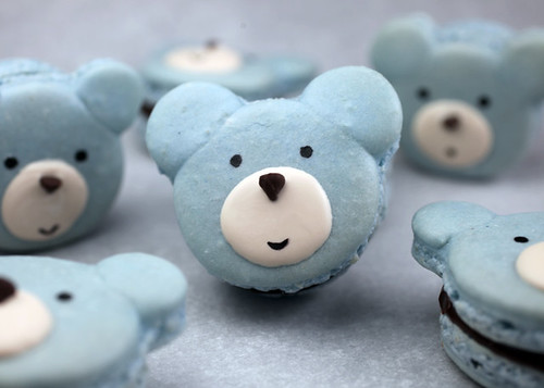 Bear Macarons | by Bakerella