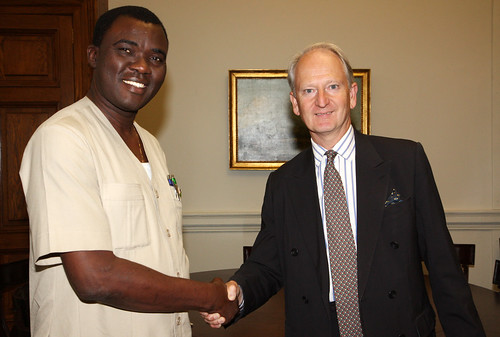 Minister of Trade and Industry of Sierra Leone | by Foreign and Commonwealth Office