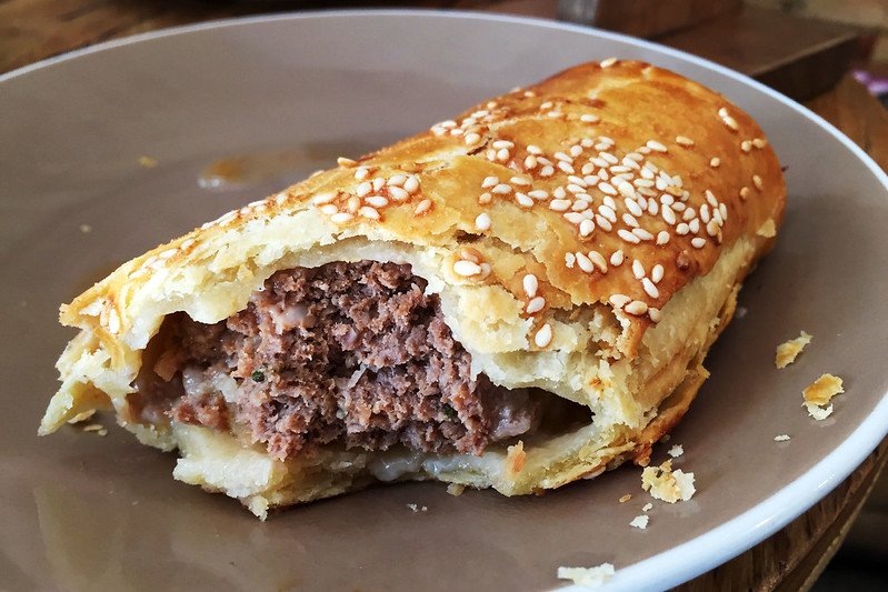 Sausage roll, Infinity Bakery