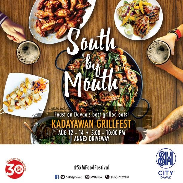 South by Mouth Kadayawan Grill Fest at SM City Davao Annex by SMCD