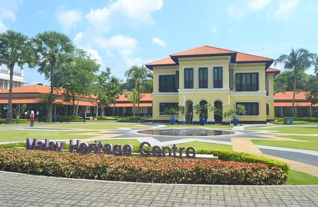 singapore heritage district kampong glam malay heritage center